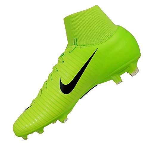 Nike Mercurial Victory Vi Df Fg, Botas de Fútbol para Hombre ELECTRIC GREEN/BLACK-FLASH