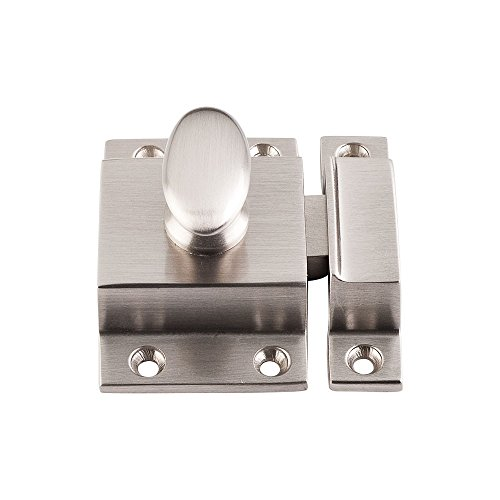 Satin Nickel Latch - Top Knobs M1779 Additions Collection 2 Inch Cabinet Latch, Brushed Satin Nickel