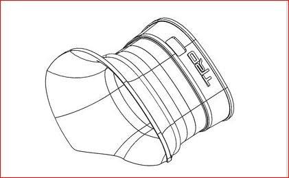 Genuine Toyota (PTR03-34079) Intake Flow Accelerator by Toyota