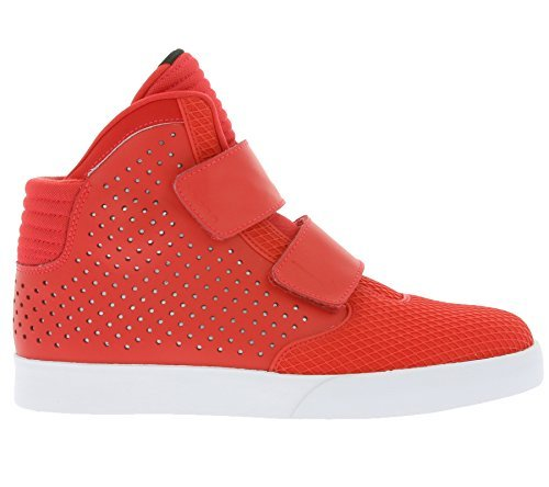 NIKE Flystepper 2K3 PRM Mens Hi Top Trainers 677473 Sneakers Shoes (US 10.5, Action Red White 602)
