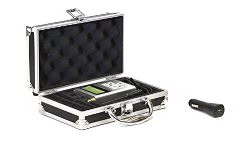 EMRSS RF Explorer 3G Combo with USB Car Charger + EMR Shielding Solutions Advanced Aluminium Case + Free Downloadable Software for Windows and Mac for RF and Wi-Fi Analyzing