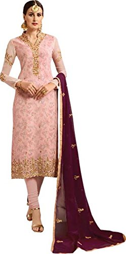 Pure Per Da Georgette Anarkali A146 Color Abito Rekha Maroon Ethnic Wear Donna Suit Shop qU4WaxWE