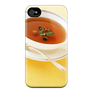 Snap-on Bowl Of Soup Case Cover Skin Compatible With Iphone 4/4s