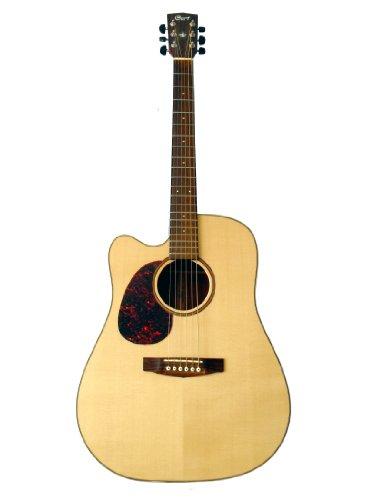 Cort Mr710F-Lh-Ns Acoustic/Electric Single Cutaway Left Hand Guitar