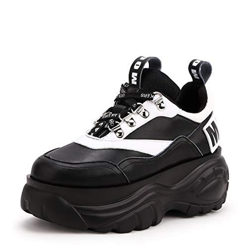 Shoes Yan Scarpe Da Outdoor Donna Walking Pattern Piattaforma Di Casual Autunno Un Ginnastica Pelle Platform Comfort Primavera amp; Star 6r6q5xA