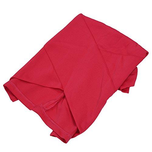 delle il sexy Nero XS allunga R casuale Bodycon rossa esterno TOOGOO esterno signora della donne femminile sottile Pannello pannello sottile Rosa del elegante XfSxqP