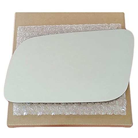 Autotruckmirrorsunlimited Mirror Glass And Adhesive - Gmc Chevrolet Truck Suv - Driver Left Side Replacement - Fits Power - Suburban Driver Mirror Glass