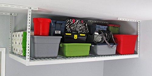 Cheap MonsterRAX – 3×8 Overhead Garage Storage Rack (12″-21″)