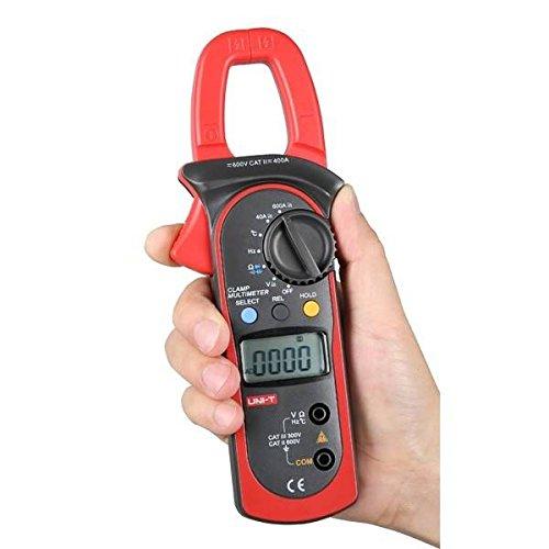 Doradus UNI-T UT204A Digital Handheld Auto Range Clamp Multimeter DMM AC/DC Volt Amp Resistance Capacitance Frequency Temperature ()