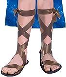 Forum Novelties 61642 Child's Biblical/Roman Costume Sandals, As Shown, L