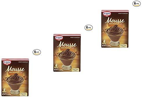 Oetker Milk Chocolate Mousse 31 Ounce