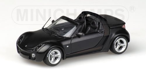 e Diecast - 436 032132 Smart Roadster Fulda 2003 black ()