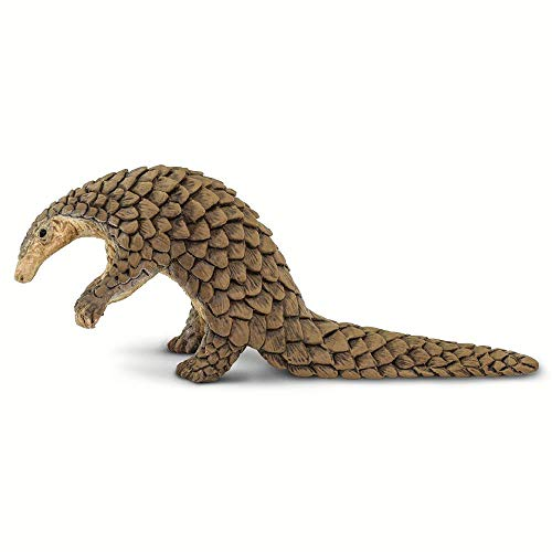 Safari Ltd. Incredible Creatures - Pangolin - Quality Construction from Phthalate, Lead and BPA Free Materials - for Ages 3 and Up