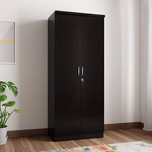 Amsterdam Engineered Wood 2 Door Wardrobe
