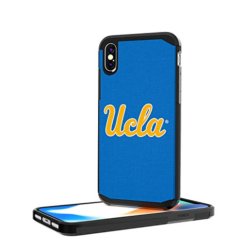 Ucla Bruins Satin - Keyscaper KRGDIX-0UCL-SOLID1 UCLA Bruins iPhone X/XS Rugged Case with Solid Design