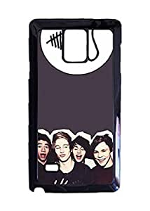 Engood Design 5 Seconds of Summer SOS Case Durable Unique Design Hard Back Case Cover For Samsung Galaxy Note 4 New