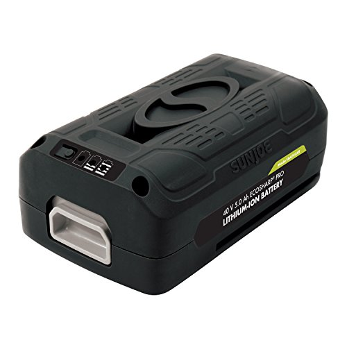 Snow Joe + Sun Joe iBAT40XR iON EcoSharp PRO 40 V 5.0 Ah Lithium-Ion Battery by Snow Joe