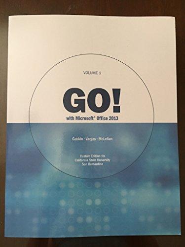 go office 2013 volume 1 pdf
