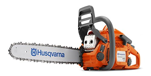 Husqvarna 440 Chain Saw - 40.9cc, 18 Inch Bar, 0.325 Inch Model 967166003 (Renewed)