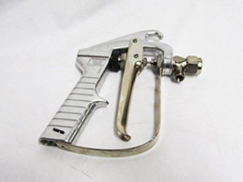 TeeJet AA23H Spray Gun, 1/4'' NPS (Male) inlet, 250-1000 psi, Stainless Steel, Teflon Seat