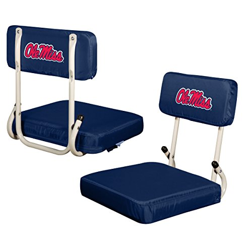 Mississippi Gift Rebels (Logo Brands NCAA Mississippi Old Miss Rebels Hardback Stadium Seat)