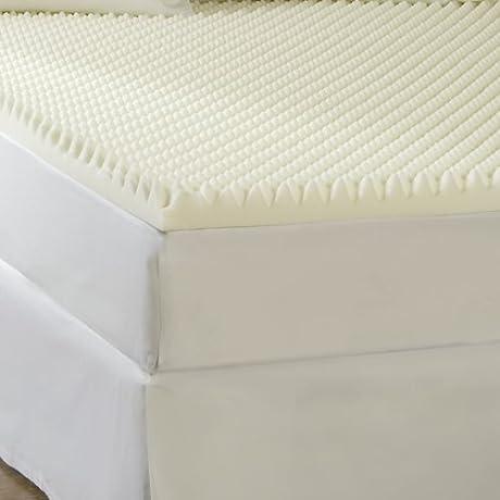 Sleep Comfort 4 Inch High Loft Supreme Memory Foam Topper Twin