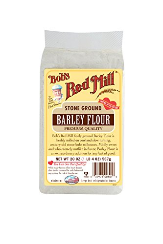 Bob's Red Mill Barley Flour, 20 Ounce (Pack of 4)