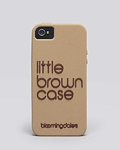 Bloomingdales Iphone 5 5S Case   Exclusive Little Brown
