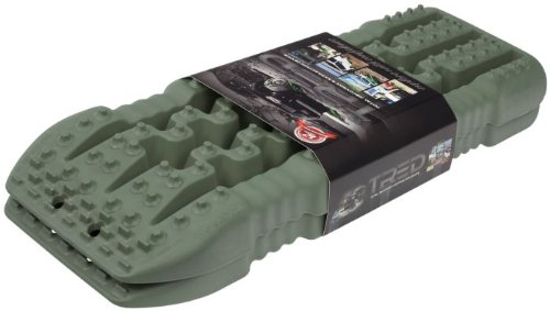 HD TREDs – Total Recovery & Extraction Device (Color: Military Green) – Pair (4X4 OFF-ROAD VEHICLE RECOVERY)