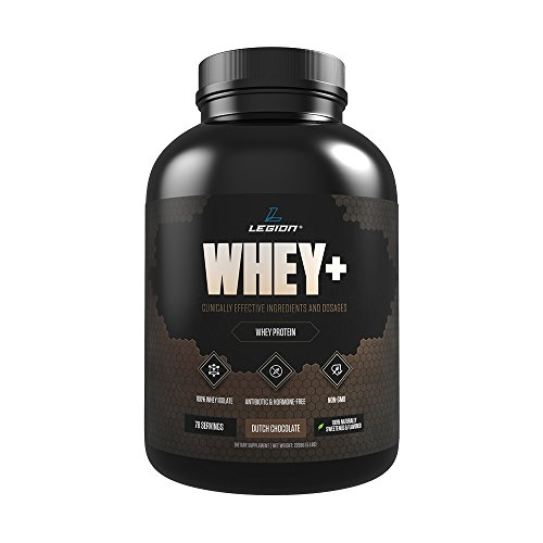 LEGION Whey+ – Best Whey Protein Powder for Weight Loss