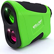 Wellray Golf Range Finders for Golfing &Hunting with Slope Compensation,Flag Acquisition with Pulse Vibrat