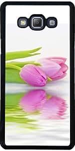 Funda para Samsung Galaxy A7 (SM-A700) - Tulipán
