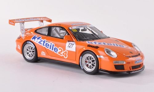 Porsche 911 (997) GT3 Cup, No.121, MS racing, Kfzteile24, Porsche Cup, Model Car, Ready-made, Schuco / Pro.R 1:43 (Porsche Cup Gt3)