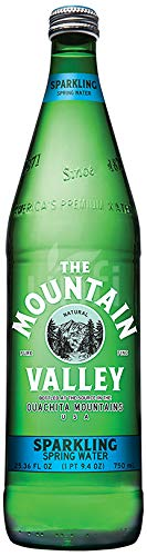 MOUNTAIN VALLEY SPRING SPARKLING WATER 750ML | PACK OF 12 by Mountain Valley