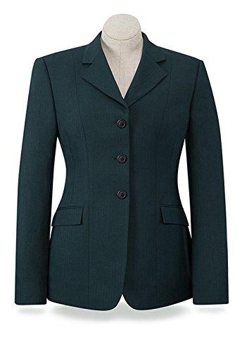 R.J. Classics Ladies Devon Show Coat 14R Black (Classic Show Jacket)