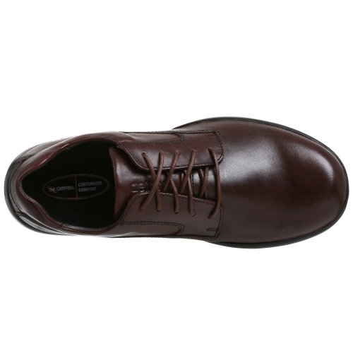 Aetrex Hombres Plain Toe Oxford Brown