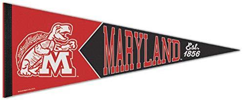 - WinCraft University of Maryland Terrapins Established 1856 Premium Felt Pennant, 12 x 30 inches