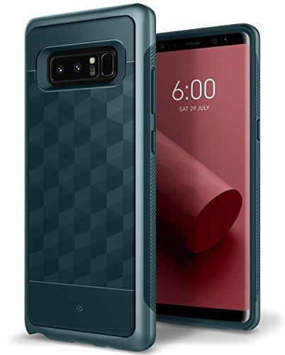 Caseology [Parallax Series] Galaxy Note 8 Case - [Award Winning Design] - Aqua Green