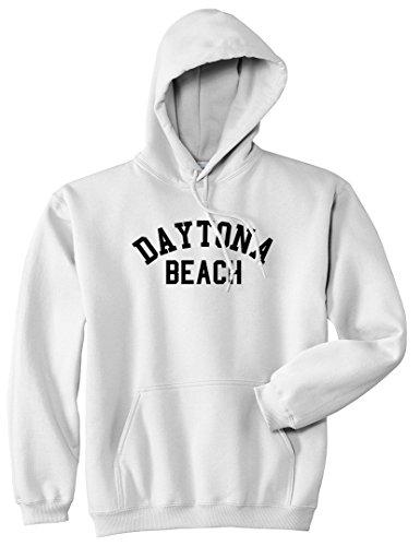 (Daytona Beach Florida Pullover Hoodie Hoody X-Large)