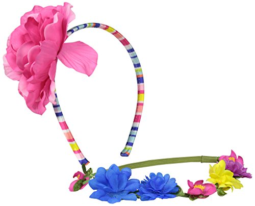 On the Verge Girl's Flower Hair Accessory Set, Multi, One Size