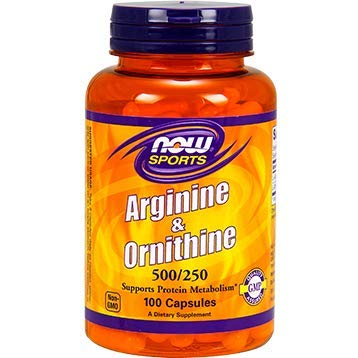 NOW Sports - Arginine & Ornithine 500/250-100 Capsules by NOW by NOW