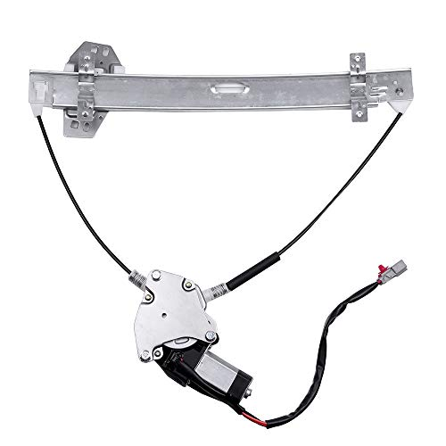 ROADFAR Power Window Regulator and Motor Replacement Parts fit for 2001-2005 Honda Civic 2 Door Coupe Front Left Drivers Side 72250S5PA02 72250S5PA03 741-300 ()
