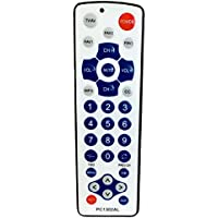 Gmatrix Large Button Universal Waterproof Remote Control - Vizio LG Sharp PC-1302AL, Initial Setting for LG, Vizio, Zenith, Panasonic, Philips, RCA - Put Battery to Work, No Program Needed