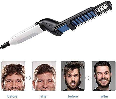 Cepillo alisador eléctrico para el cabello, Peine para alisado ...