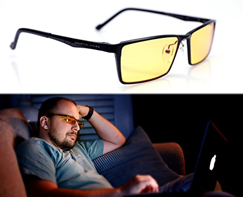 Premimum Aluminum Frame Blue Light Blocking Glasses: Block 95% of Blue Light with Blue Blocker (95 Glasses)