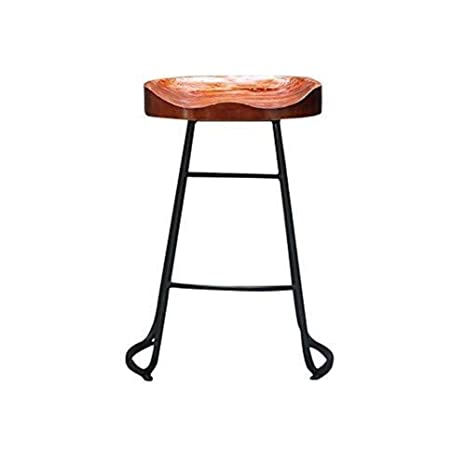 Amazon.com: AMY-ZW Chair Bar Stool Modern Minimalist Home ...