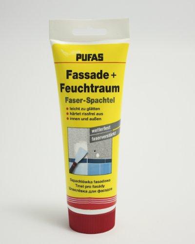 Pufas Faserspachtel Fassade + Feuchtraum      0,400 KG