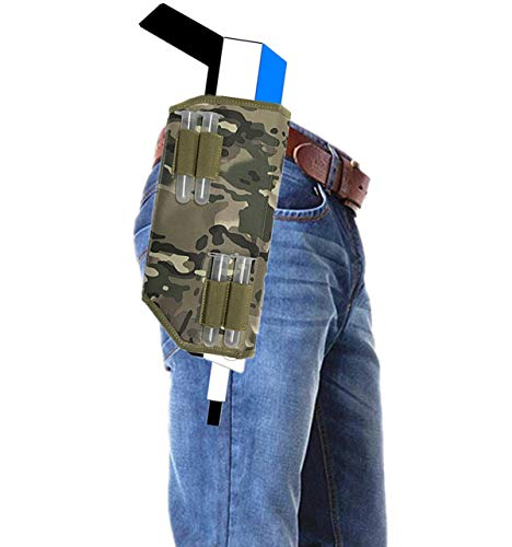 HelleX Tactical Scabbard with 4 salt Magazine Loaders Compatible With Insect Eradication Bug & A Fly Salt Shotgun Version 2.0