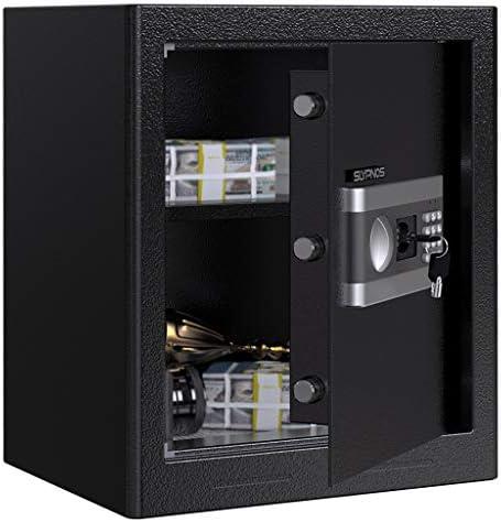Caja Fuerte Convencionales de Seguridad, SLYPNOS - Caja de Seguridad (Regalo con 4 AA batterias+2 Llaves de Emergencia), Anti-Vibración Electroimán (XL-43L): Amazon.es: Bricolaje y herramientas