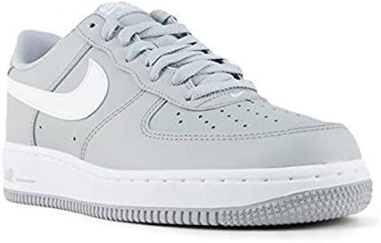 NIKE AIR FORCE 1 LOW SNEAKERS SHOES GREY/WHITE 820266-004 ...